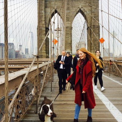 Foto: Anja, New York, NY, events internship (2015)