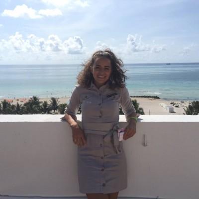 Foto: Gabriela, Miami, FL, hospitality internship (2015)