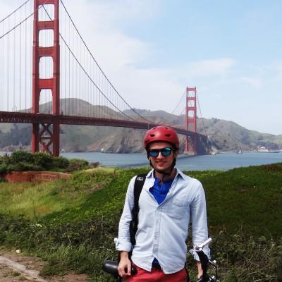 Foto: Marc, San Francisco, CA, design internship (2014)