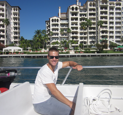 Foto: Stefan, Fort Lauderdale, FL, Industrial management Internship